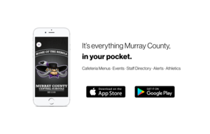 Murray County Central app: It's Everything MCC, in Your Pocket.