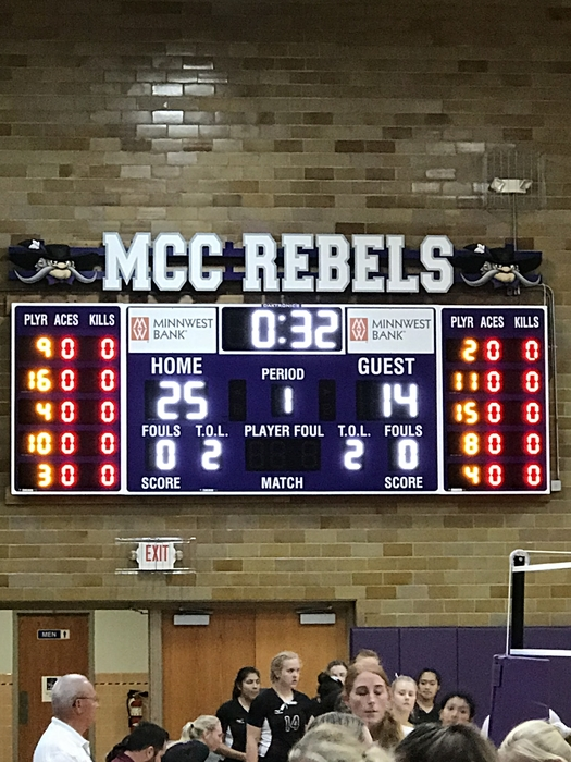 Rebels win game one 25-14!