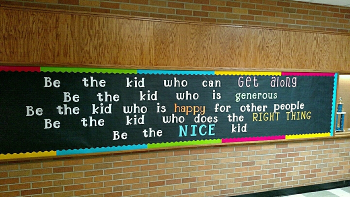 Rebel Pride Theme at West Elementary. Striving to be the nice kid!