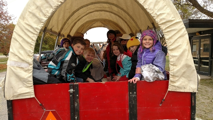More fun with wagon rides.