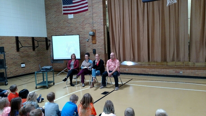 West Elementary students hosting National Unity Day assembly with parent panel.