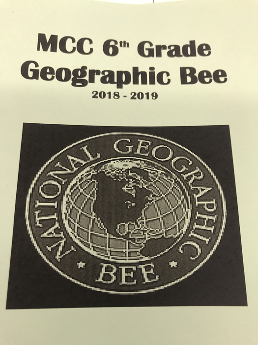 National Geographic Bee @ MCC