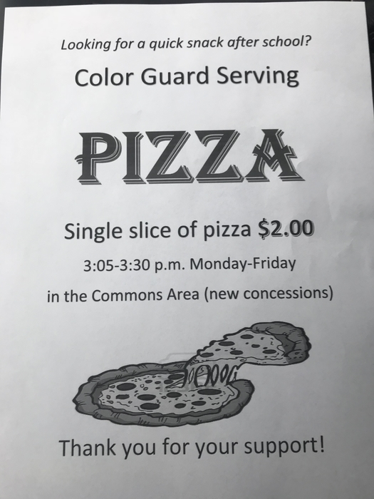 Color guard fundraiser