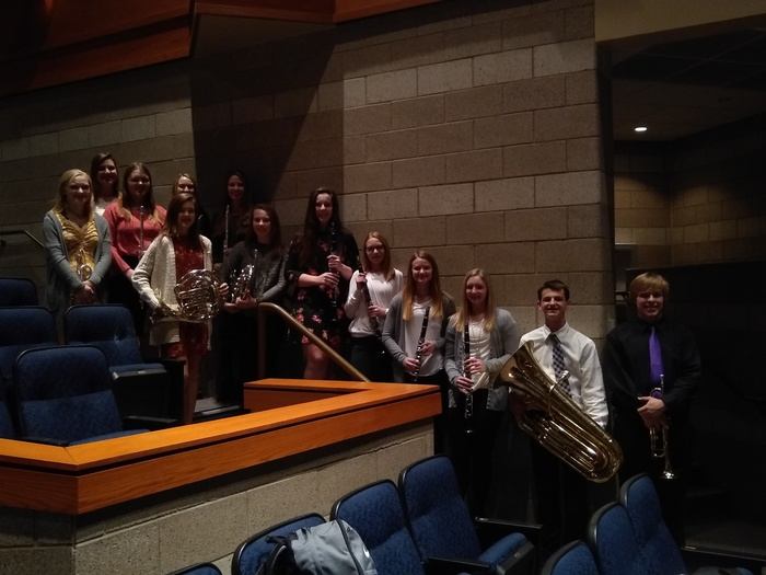 MCC SWMBDA Honor Band Members