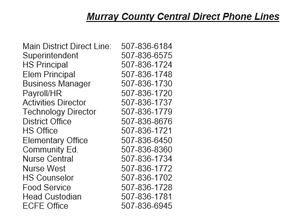 Direct Phone Lines