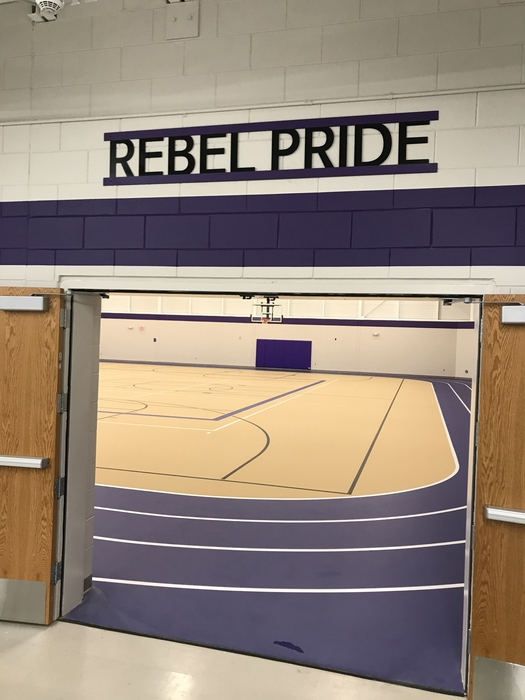 Rebel Pride Sign
