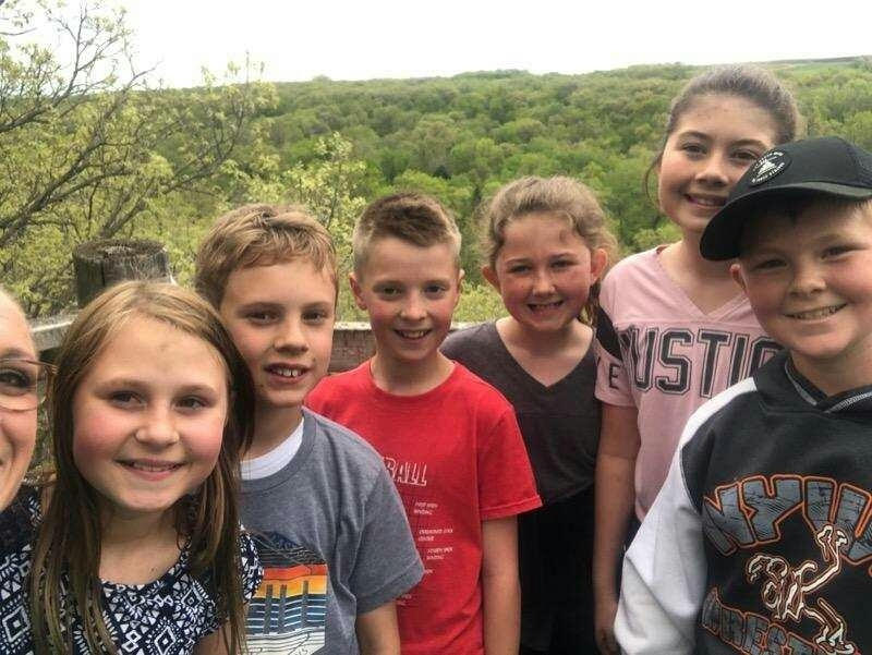 4th grade camp out photos.