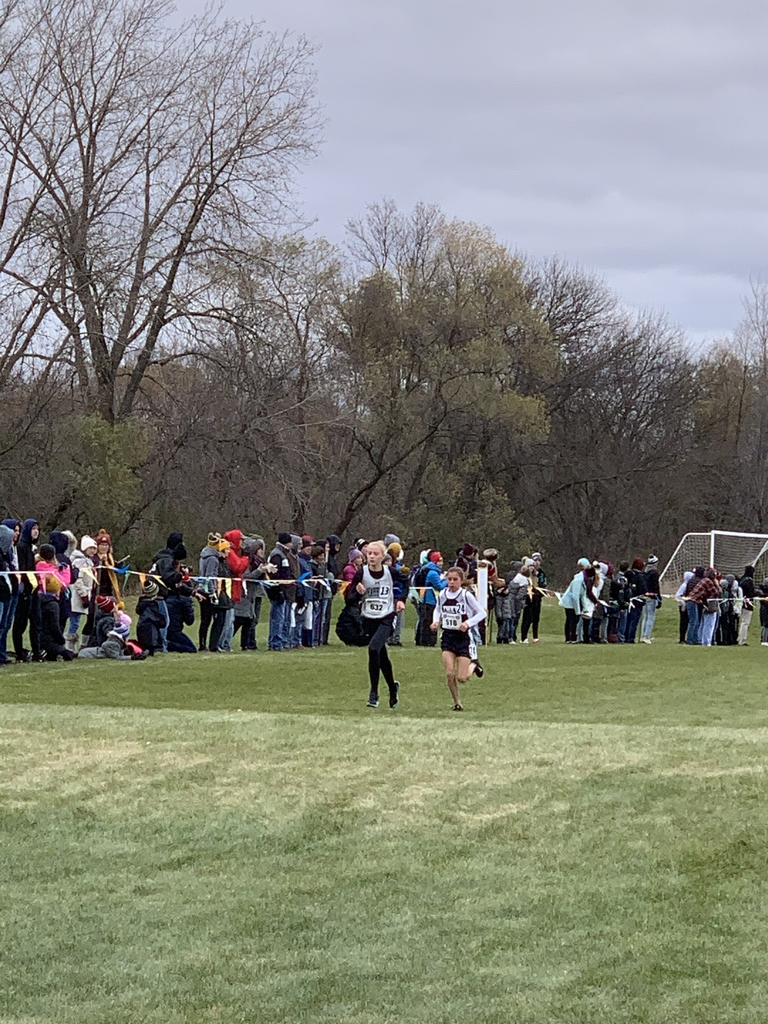 Morgan leading the state meet!