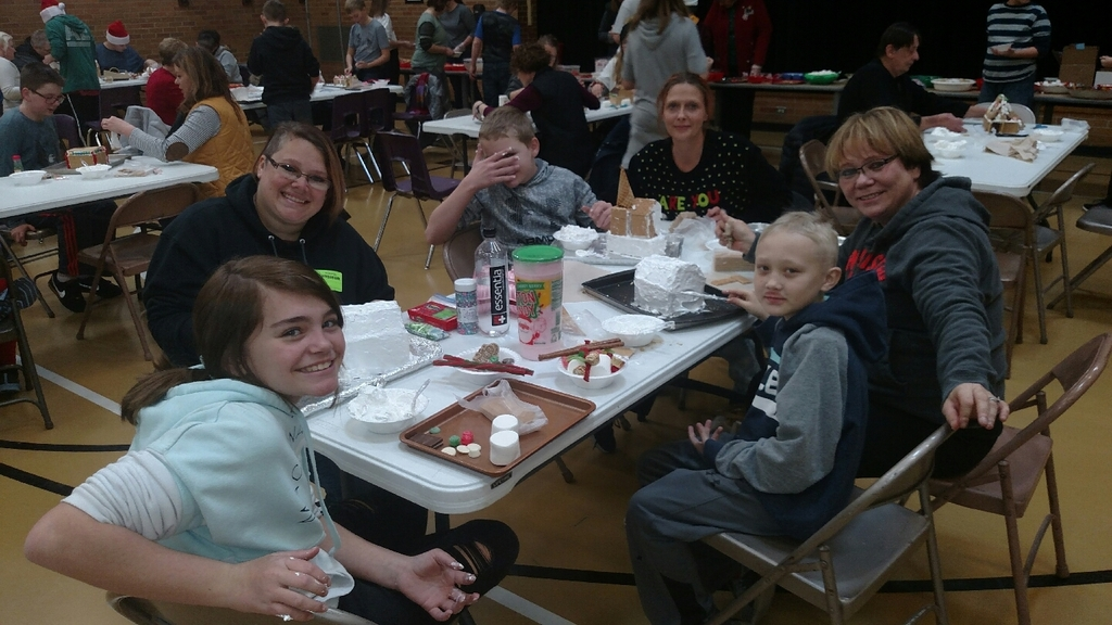 6th grade and Gingerbread Houses.