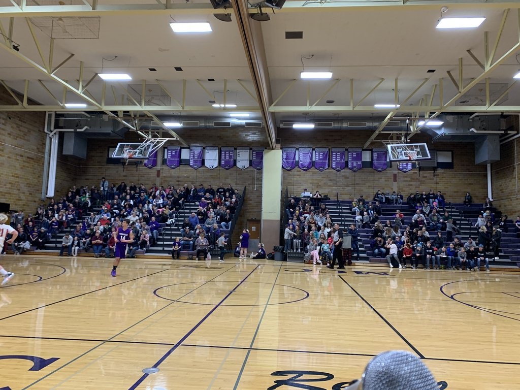 Packed house for B-squad.