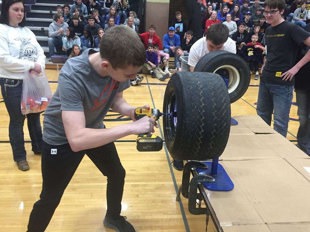 Tire Changing Contest