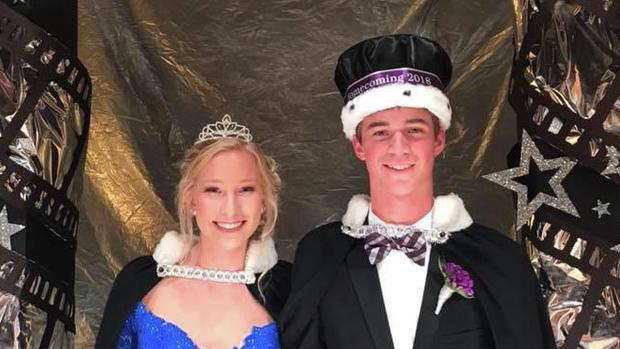 2018 Homecoming King & Queen